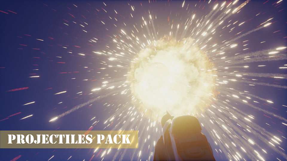 Projectiles Pack Demo for Unreal Engine 4