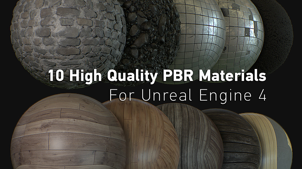 Revo's PBR Texture Bundle for UnrealEngine 4