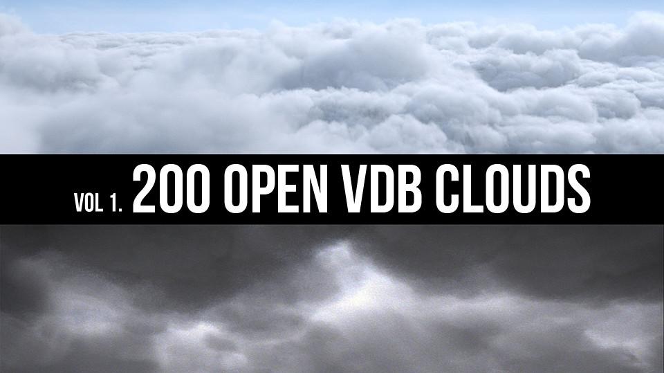 200 Modular OpenVDB Clouds
