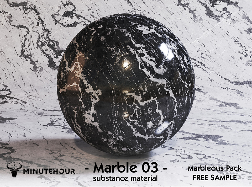 Marble Substance Material Free Sample