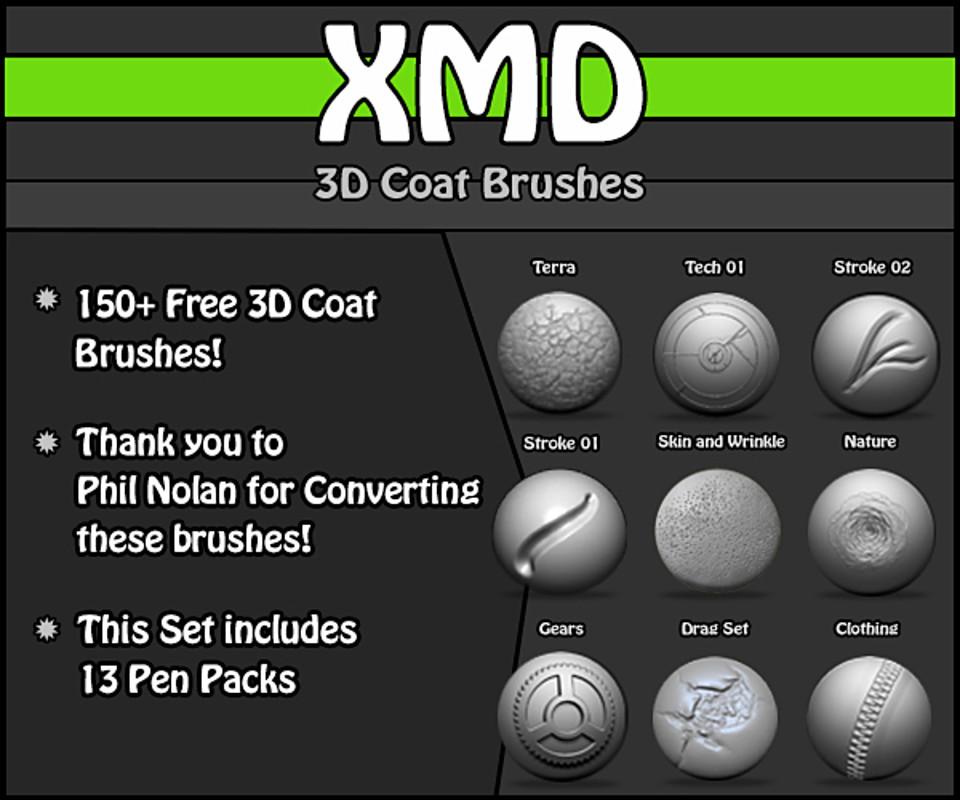 XMD 3D Coat PenPacks