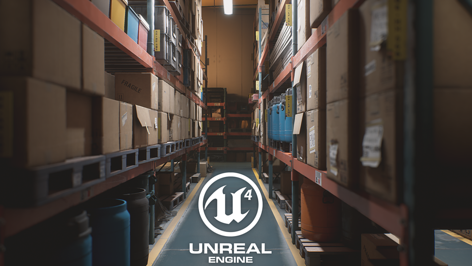 UE4 - Storage House Set