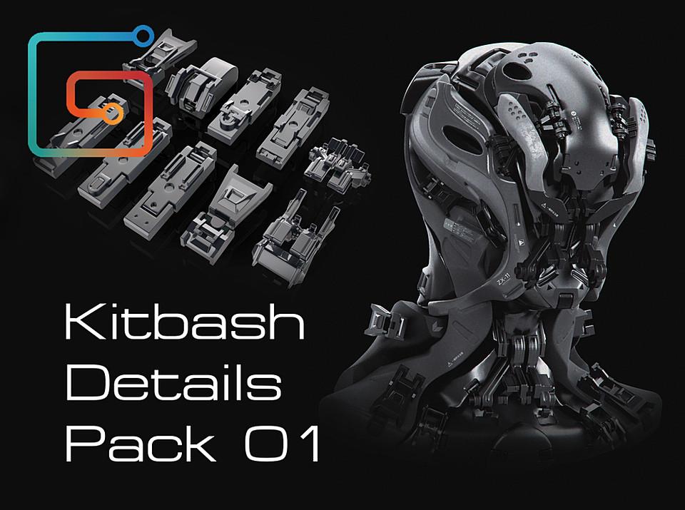 Kitbash details pack 01
