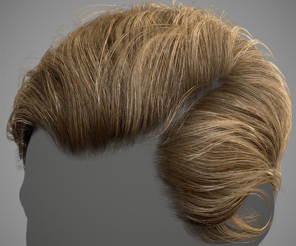 Advanced Hair Shader Pack