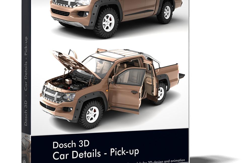 Dosch 3d Car Details Pickup