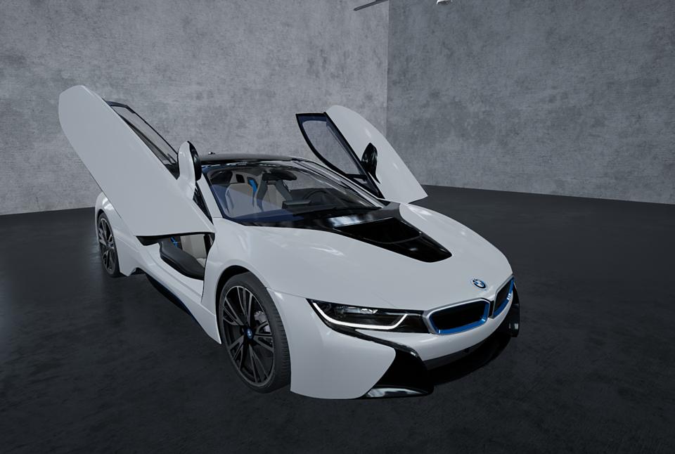 2015 Bmw I8 Next Gen 3d Model