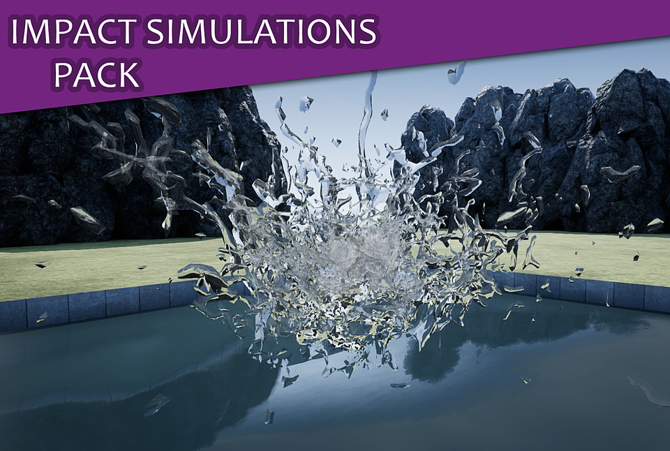 Impact Simulation Particle Pack [UE4]