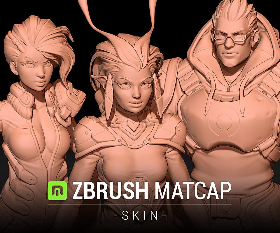 Skin MatCap