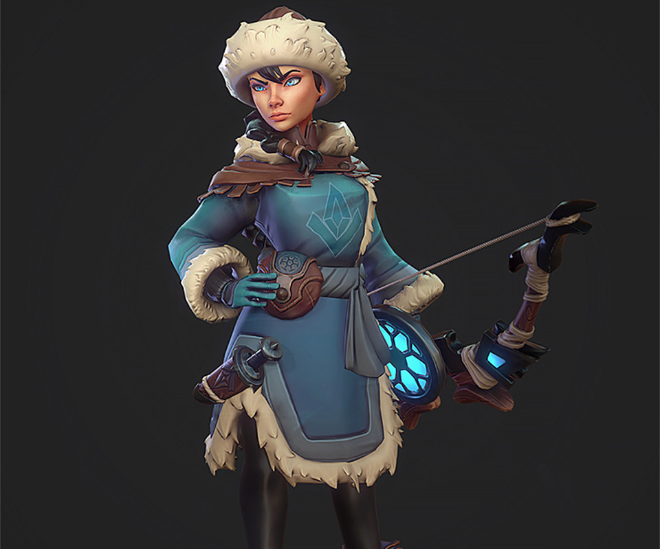 Game-Ready Character - Winter Huntress