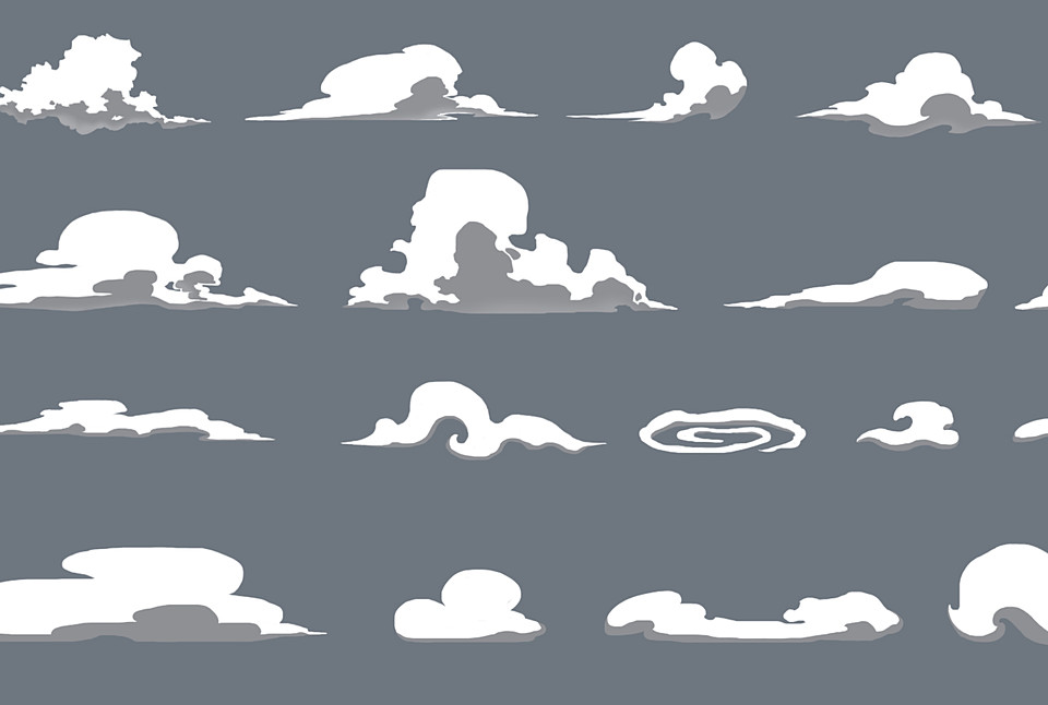Cloud Sprites Pack