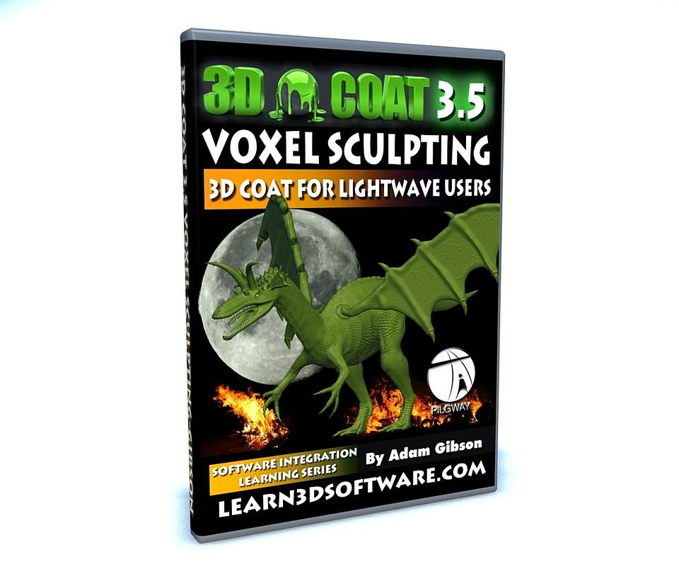 3D Coat 3 5- Voxel Sculpting: Project Dragon