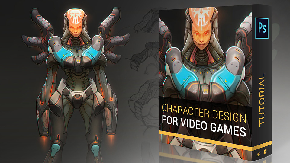 video game character design