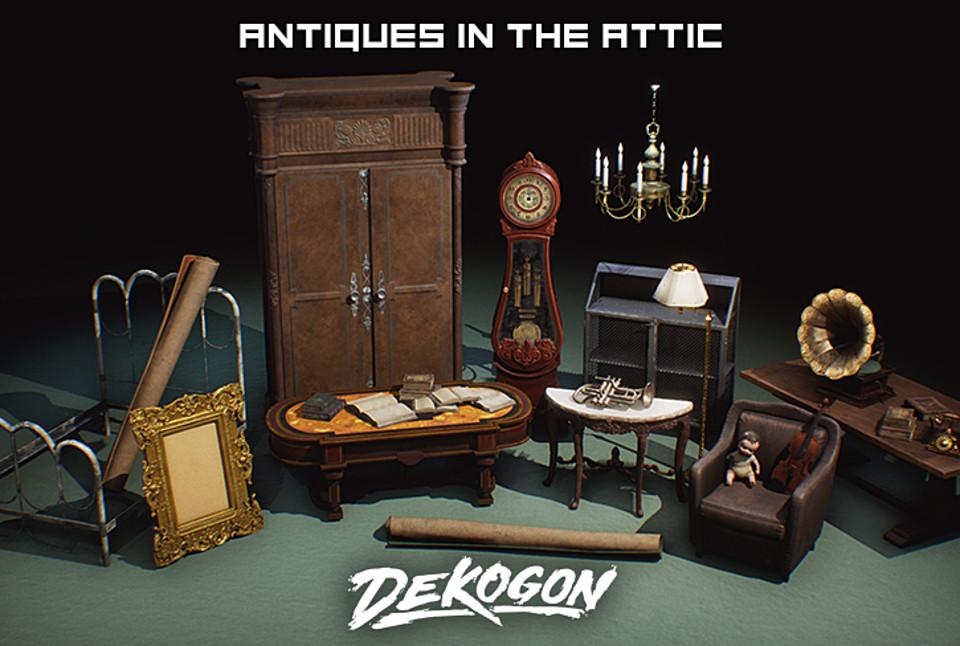 Antiques in the Attic VOL 2 [UE4+Raw]