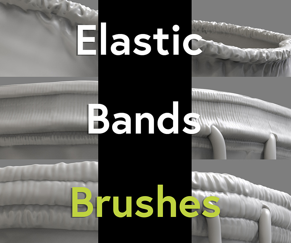 Free Elastic Waist Bands Brush Pack (4R7 to 2018)