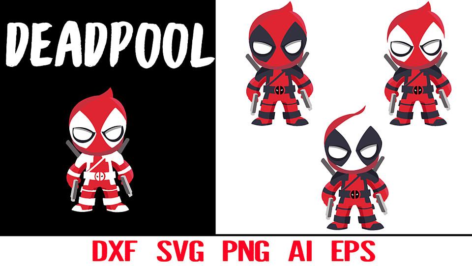deadpool ai deadpool vector marvel deadpool eps