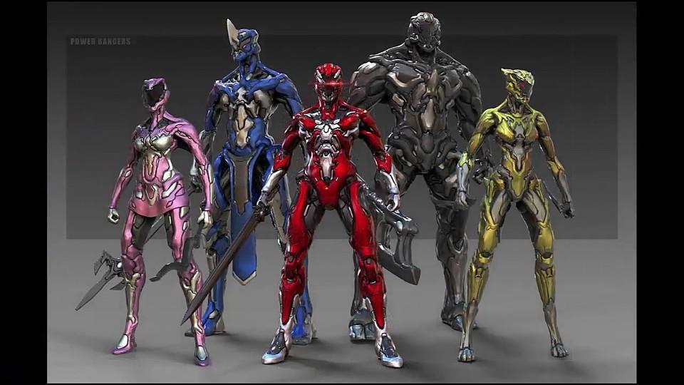 Power Rangers Remake Zbrush/Keyshot Tutorial