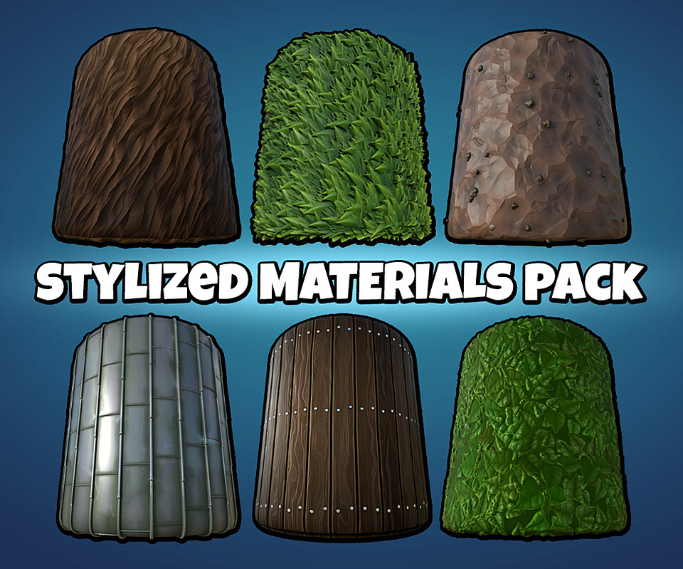 Substance Stylized Materials Pack