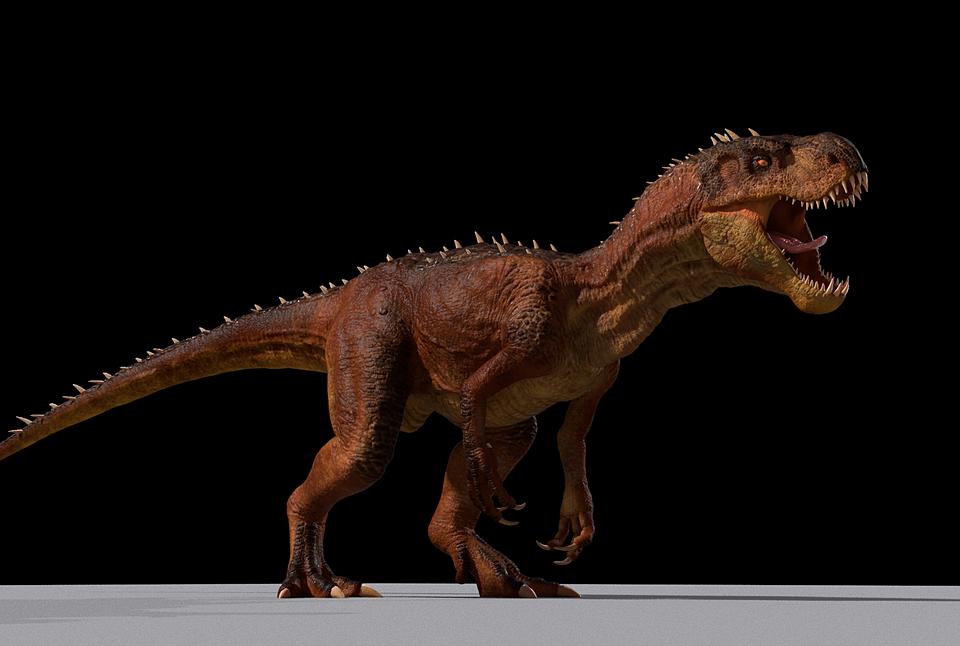 Diabo Dinosaur (D-rex) Maya Rig
