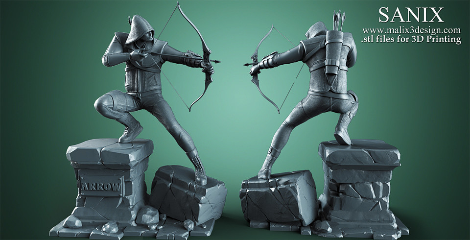 Arrow - 3D Print Model