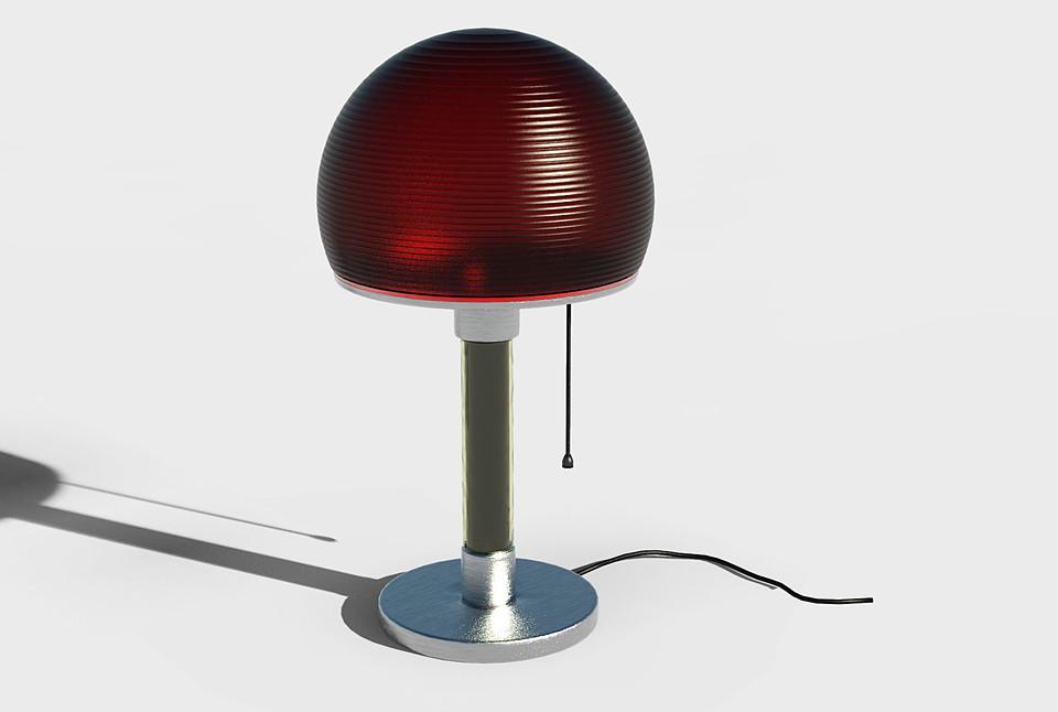 Wilhelm Wagenfeld Table Lamp Bauhaus Lamp Free