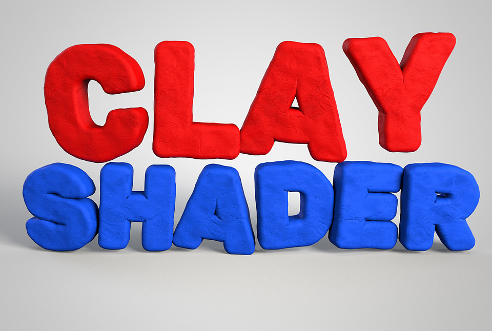 Redshift Clay Shader