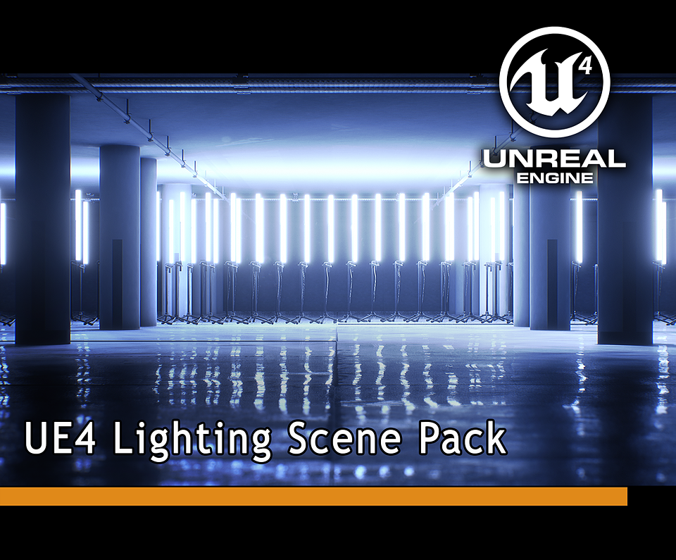 UE4 Scene for Realistic Lighting