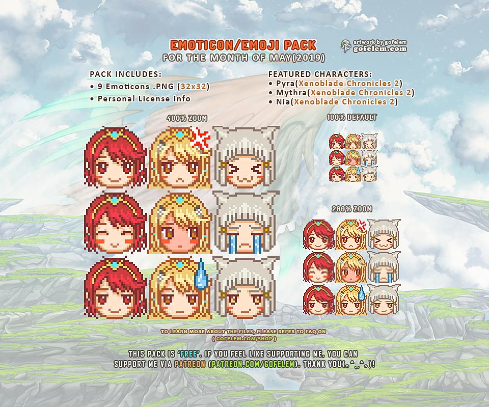 Emoticons/Emoji Pack [MAY - 2019]