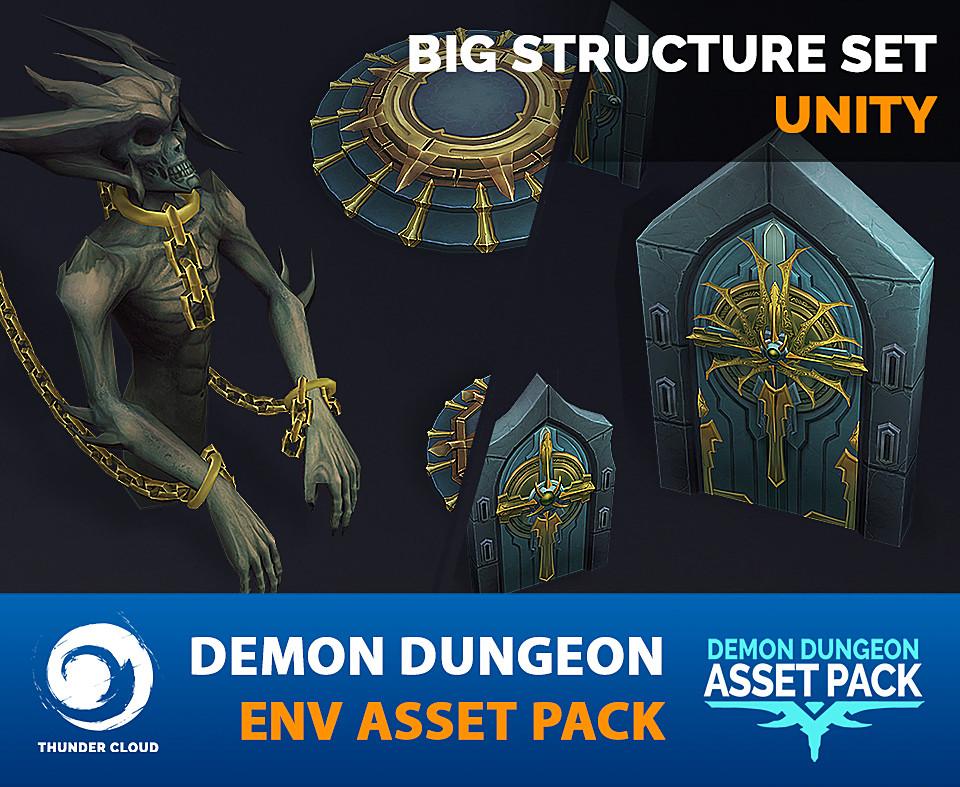 Demon Dungeon Big Structure Pack