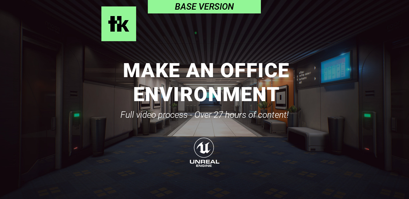 Making An Office Environment In Unreal 4