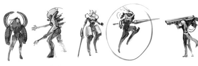 Female Game Character Concept Chapter 1 Cubebrush