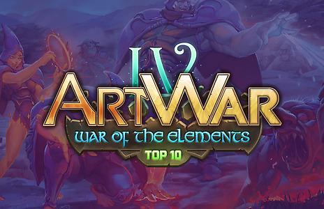 ART WAR 4 - Top 10 Finalists & Judges