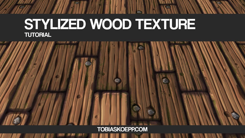 Stylized wooden planks tileable texture tutorial 4 baditri Gallery