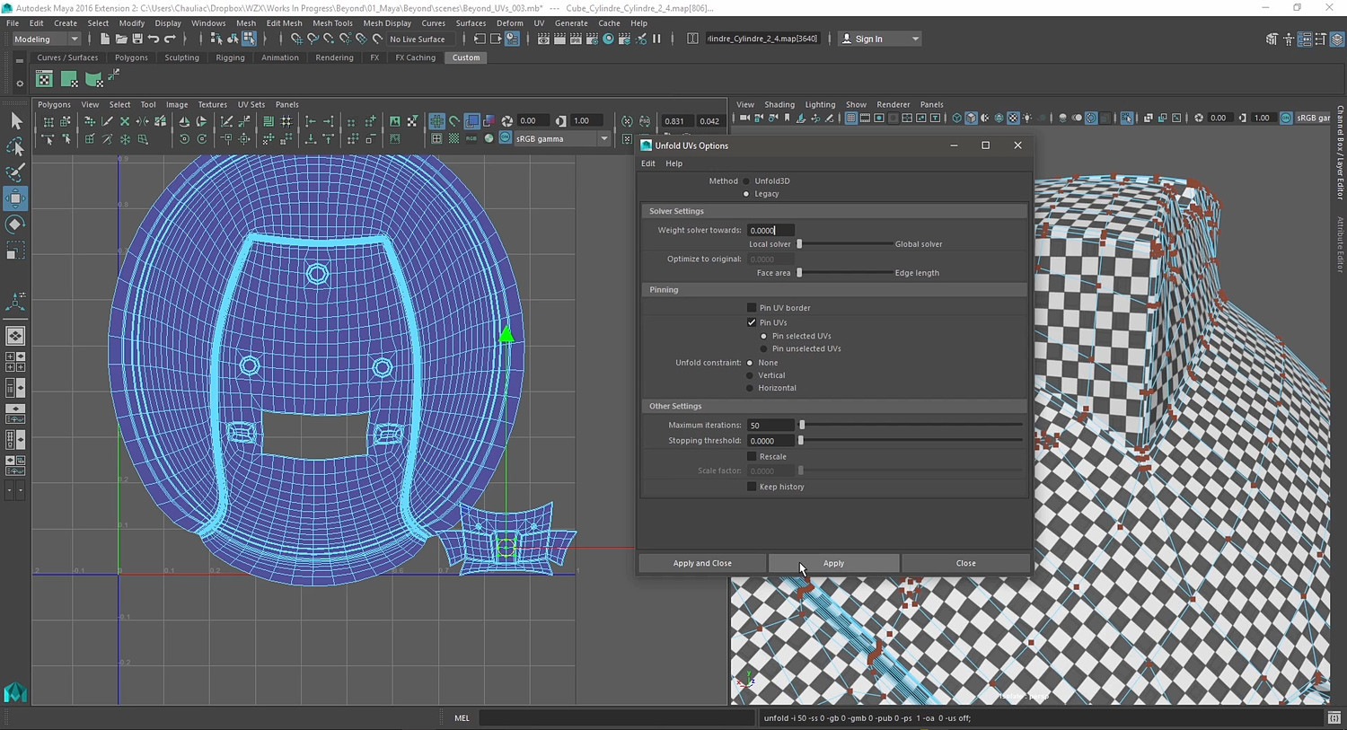 Project Beyond - Character creation in Cinema 4D