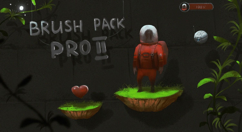 Brush pack Pro II for Procreate Ipad