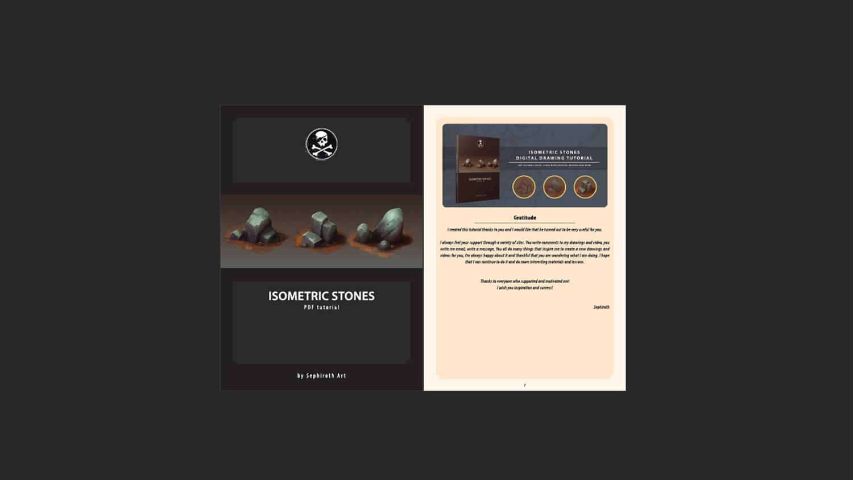Isometric Stones | Digital Drawing Tutorial