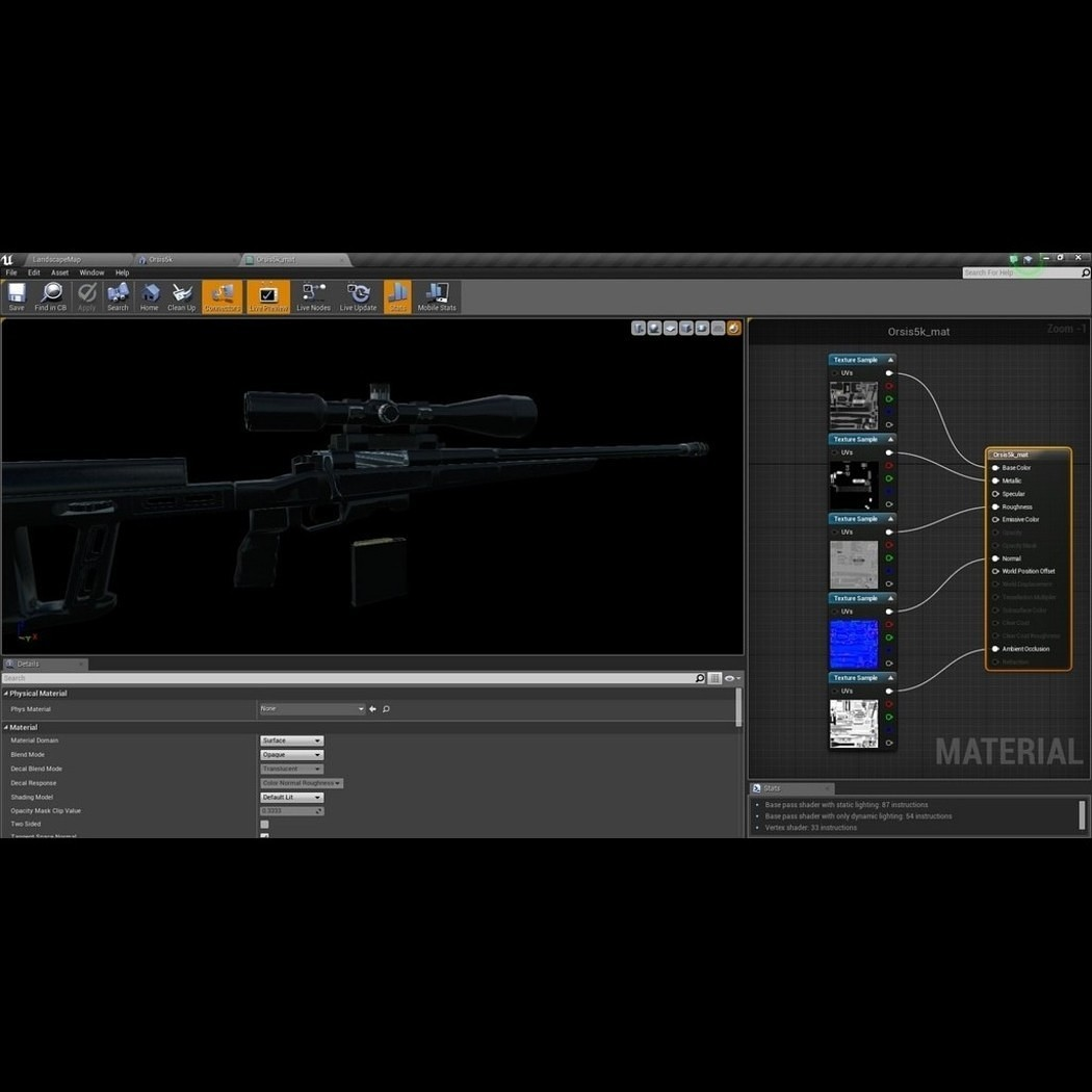 Sniper Rifle Orsis T-5000
