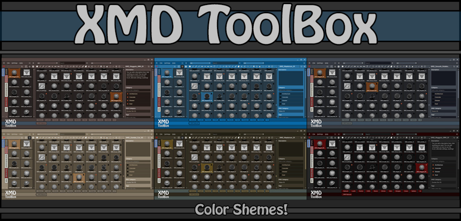 XMD ToolBox Plugin for ZBrush