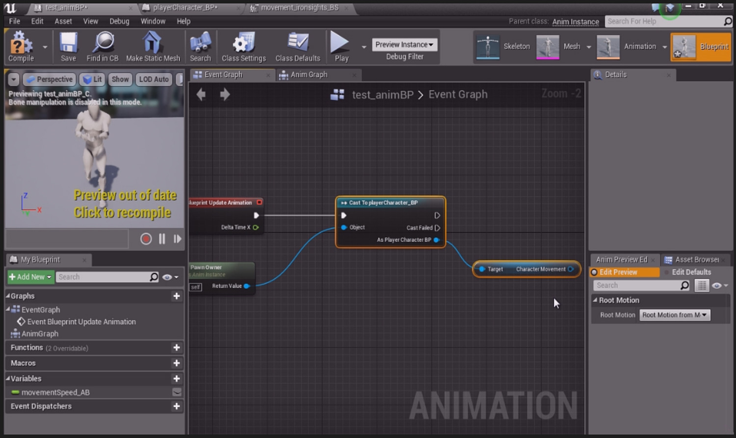 Learn the animation pipeline for characters in ue4 30 off190133 malvernweather Gallery