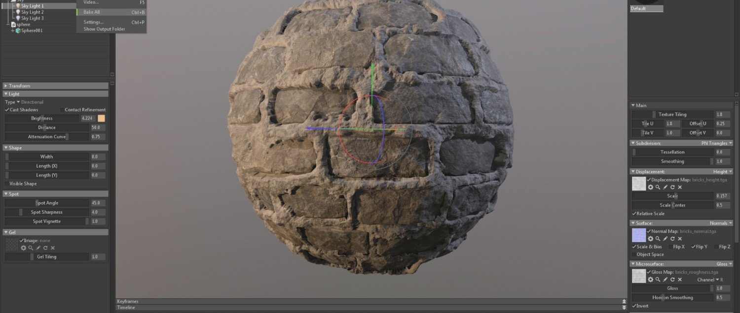 Texture Creation with ZBrush & Substance Designer