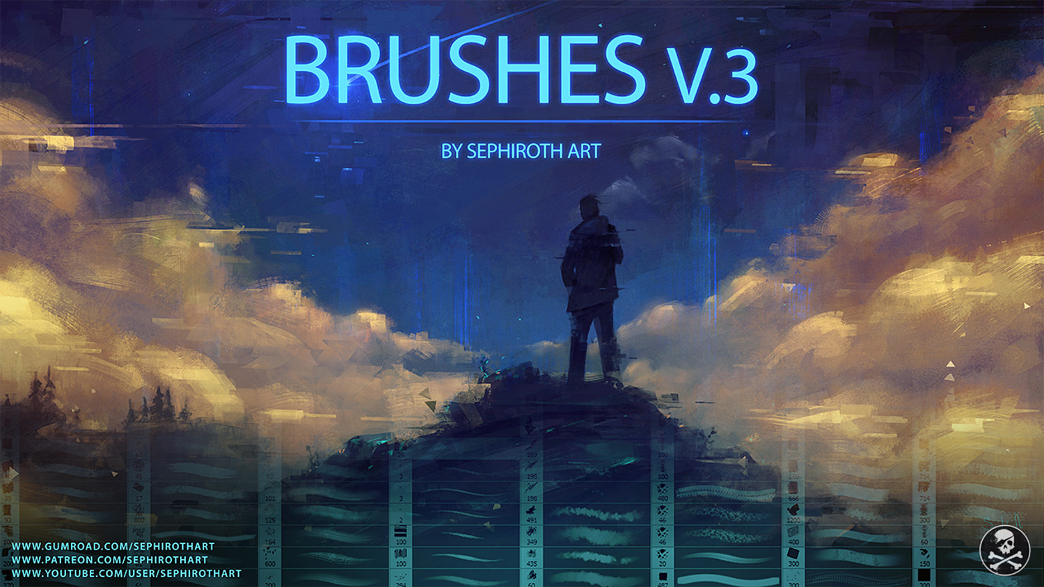 BRUSHES v 3 by SephirothArt