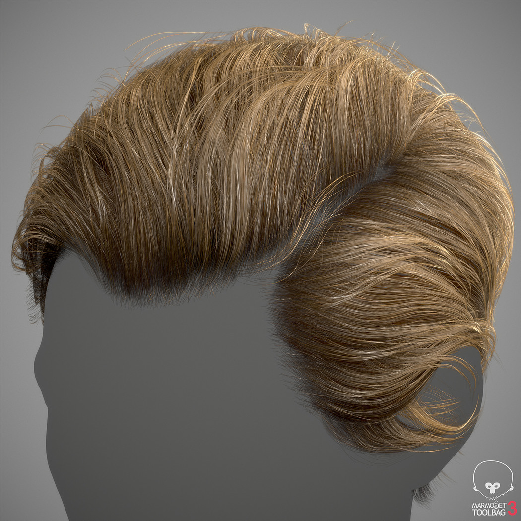 Realtime Hair Tutorial With Example Model