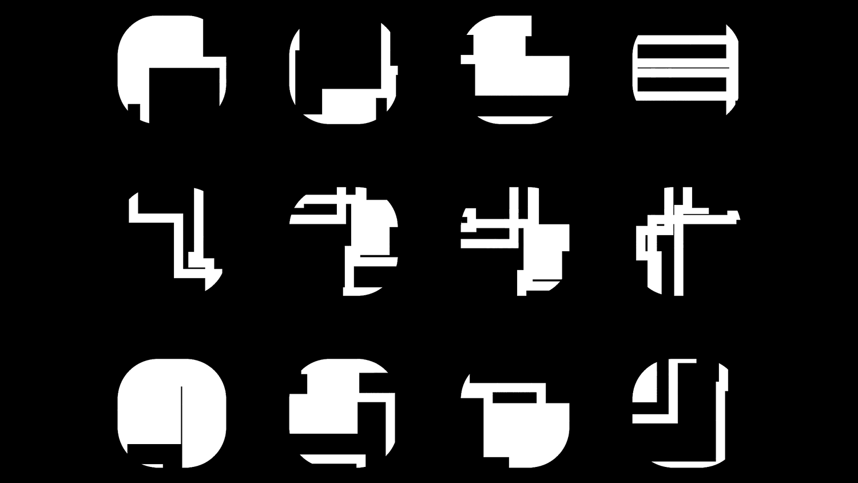 Xeno Symbols Alien Alphabet Graphics Ue4png