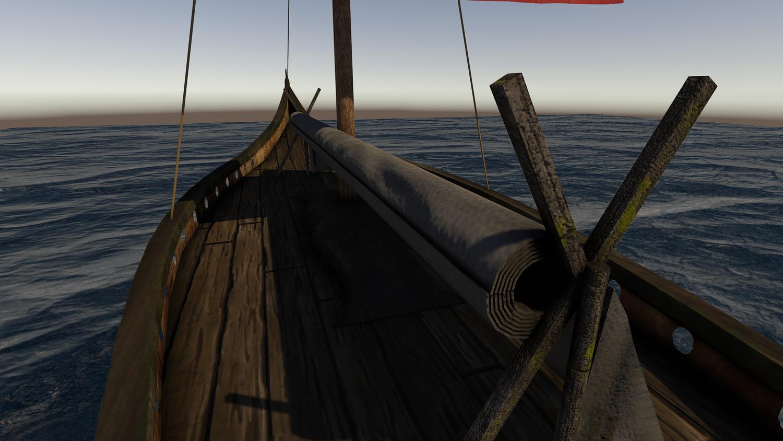 Viking Drakkar Ship (Unity 3D)