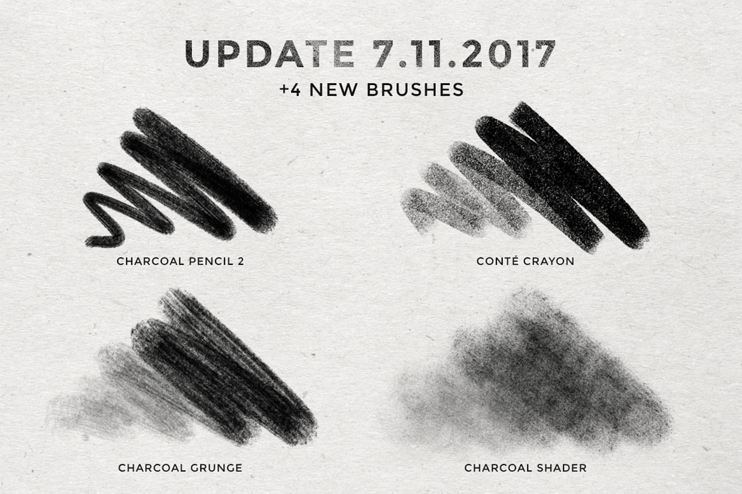Pencil charcoal procreate brushes