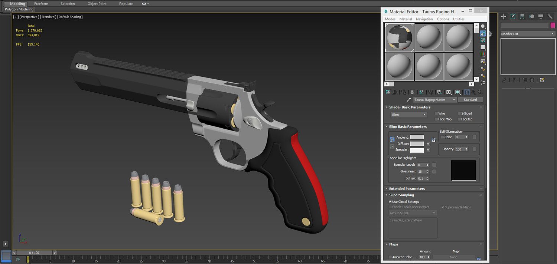 Taurus Raging Hunter Revolver Pistol