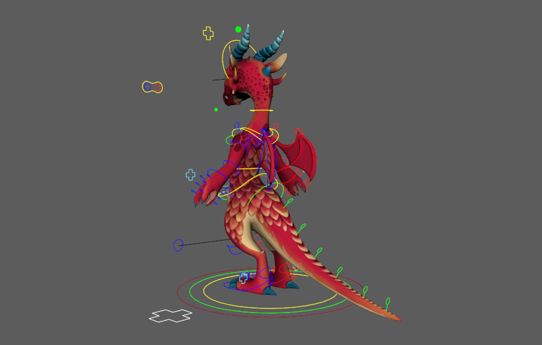 Red Dragon Free Rig