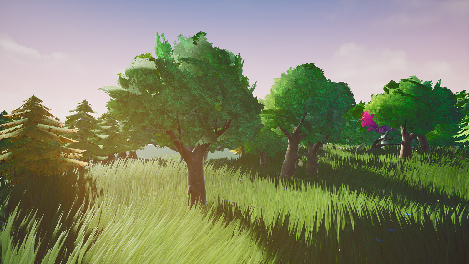 Stylized Foliage And Trees [ Unreal Engine 4 ]