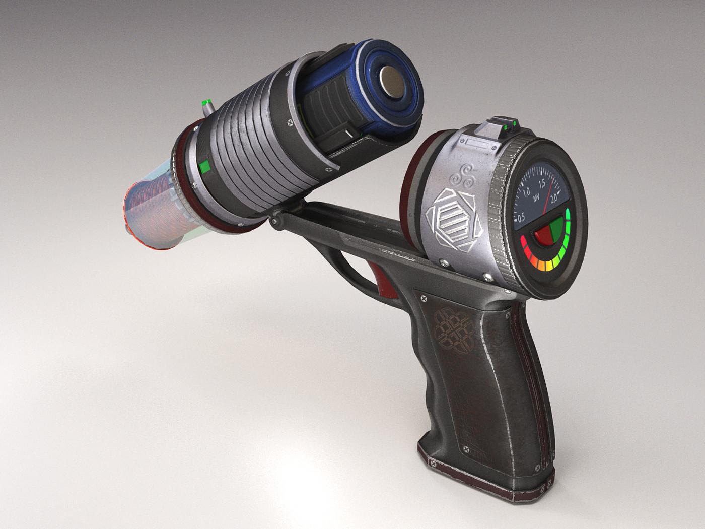 Tesla Pistol PBR