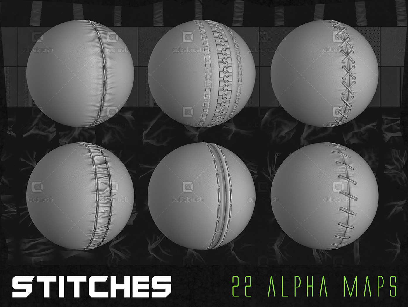 150+ Ultimate Cloth Alpha Pack by Jonas Roscinas