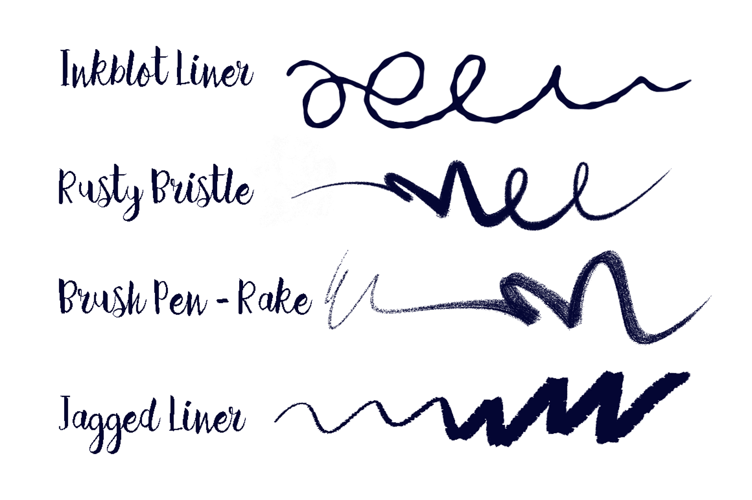 Photoshop Inking Brushes